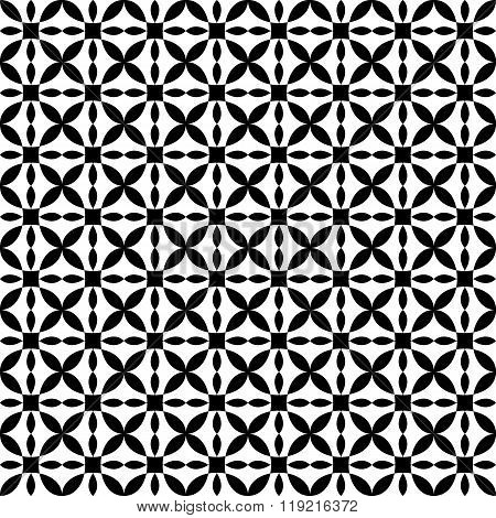 Vector seamless pattern. Modern stylish texture. Repeating geometric tiles.