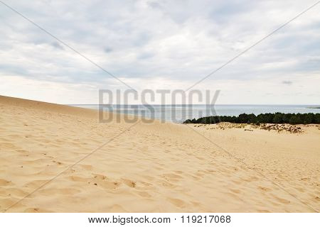 Famous Dune Of Pilat In France