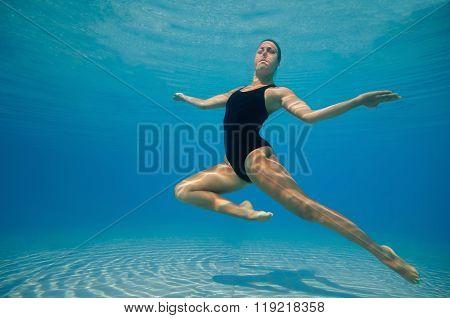 Underwater Ballet Dancer