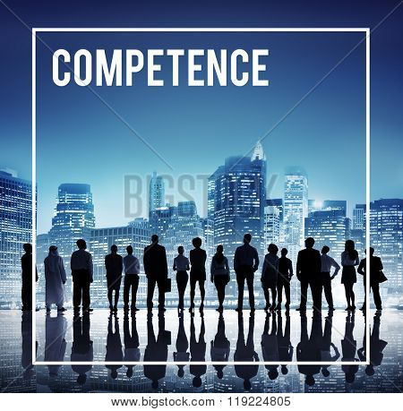 Competence Ability Skill Expertise Talent Performance Concept