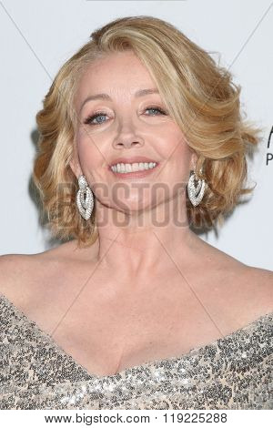 LOS ANGELES - FEB 20:  Melody Thomas Scott at the Make-Up Artists And Hair Stylists Guild Awards at the Paramount Studios on February 20, 2016 in Los Angeles, CA