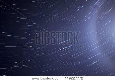 Star Tracks Sky Halo Space