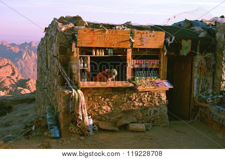 A Shop  On The Way Up To Mount Sinai