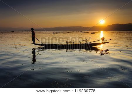 A local fisherman
