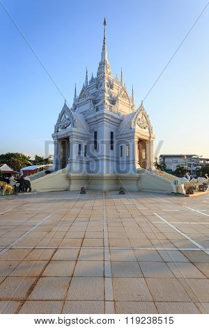 Surat Thani, Thailand - January 2 : The City Pillar Shrine Of Surat Thani Province On January , 2016