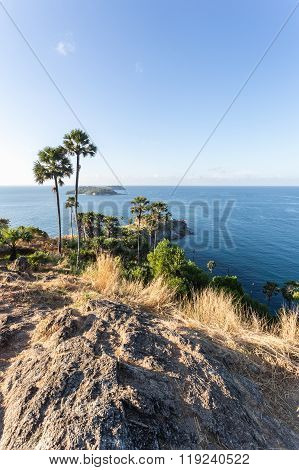 Laem Phromthep Viewpoint (phromthep Cape Viewpoint) In Phuket,