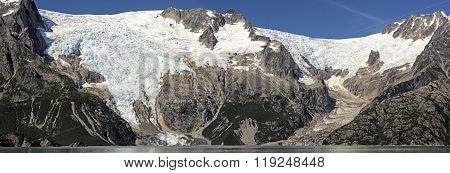 Glacial Panorama In Alaska