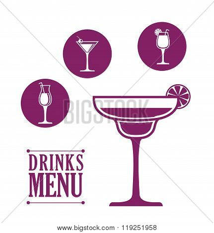 Drinks icon design