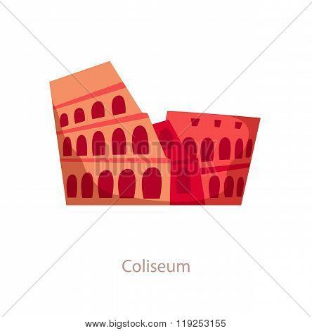 Coliseum. Rome landmark.