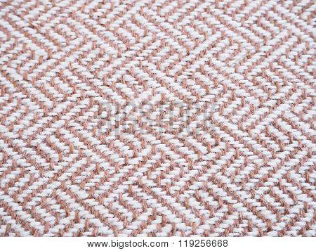 Beige Tweed Fabric Pattern