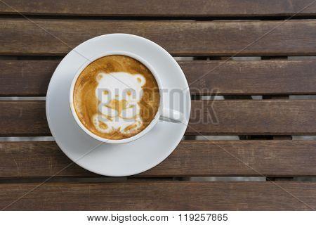 Coffee Bear For Valentine