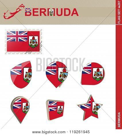 Bermuda Flag Set, Flag Set