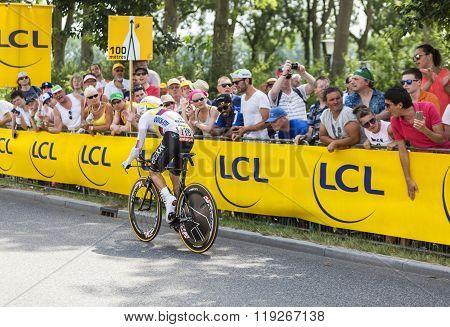 The Cyclist Rigoberto Uran Uran - Tour De France 2015