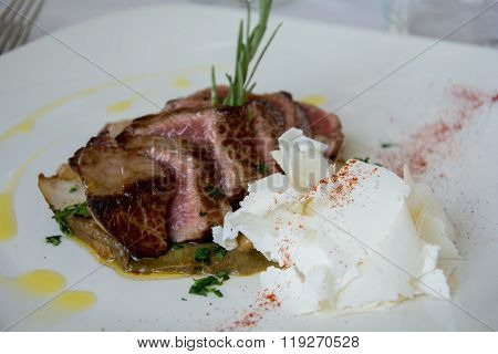 Slices Of Roast Beef