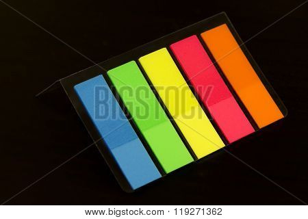 Colorful Bookmarks For Documents