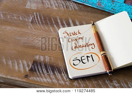 Business Acronym Sem Search Engine Marketing