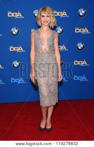 LOS ANGELES - FEB 06:  Chelsea Kane arrives to the Directors Guild Awards 2016  on February 06, 2016 in Century City, CA.