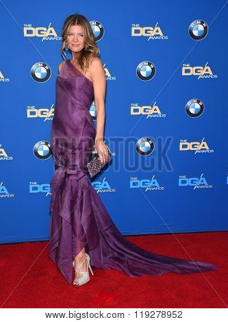 LOS ANGELES - FEB 06:  Michelle Stafford arrives to the Directors Guild Awards 2016  on February 06, 2016 in Century City, CA.
