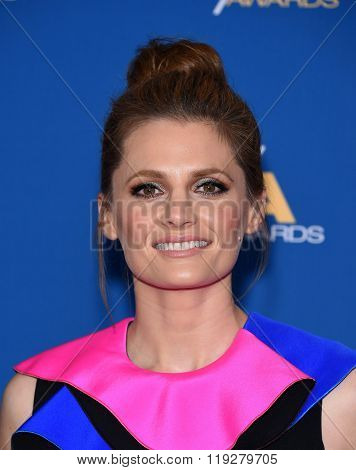 LOS ANGELES - FEB 06:  Stana Katic arrives to the Directors Guild Awards 2016  on February 06, 2016 in Century City, CA.