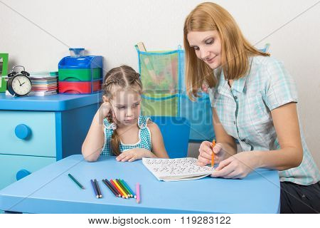 The Girl Does Not Understand The Course Material That Speaks To Her Tutor