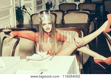 Luxury Elegant Woman