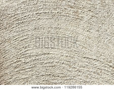 Gray Concrete Surface With Concentric Relief
