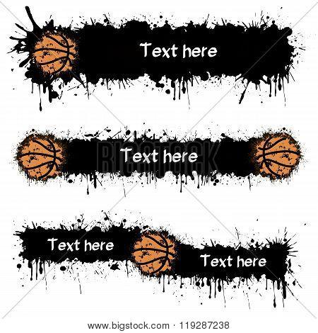 Basketball And Blots