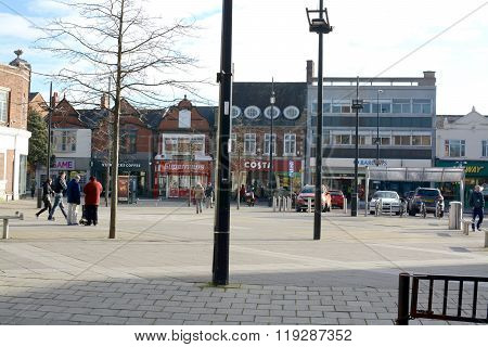 Crewe Town Centre