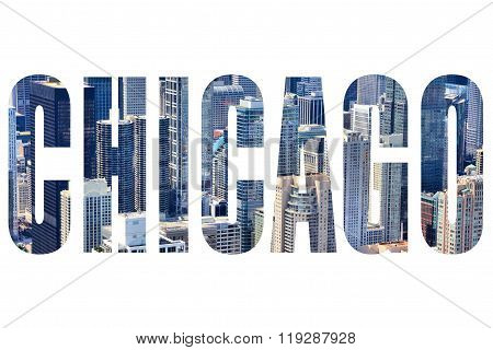 Chicago Text Sign