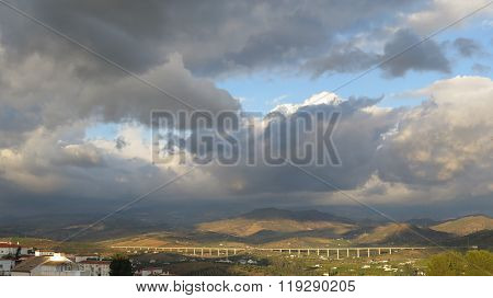 Clouds Over Valley