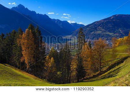 East Tirol In Autumn. Austria.