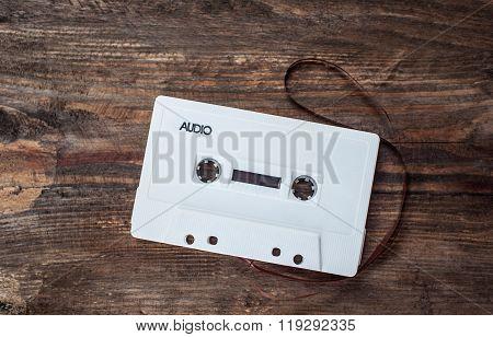 Music white tape