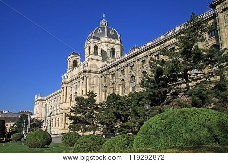 Vienna, Austria - April 26, 2013: Museum Of Natural History (imperial Naturhistorisches Museum) In V