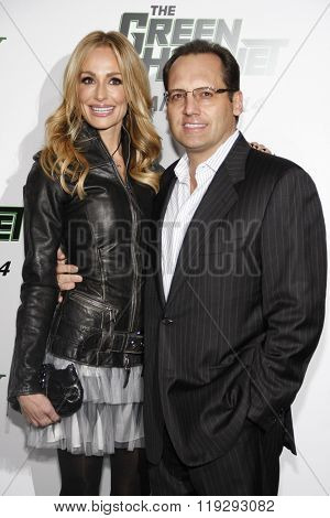 Taylor Armstrong and Russell Armstrong at the Los Angeles Premiere of