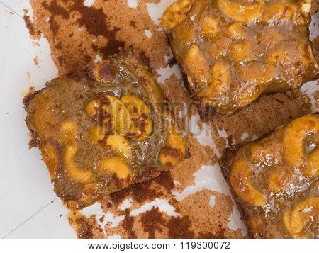 Toffee Cashew Nut With Caramel Cake