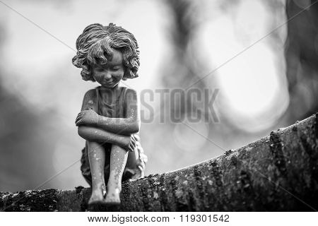 Lonely Fairy In Mono