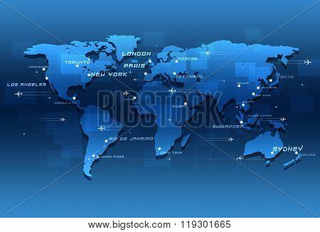 World Aviation Destinations