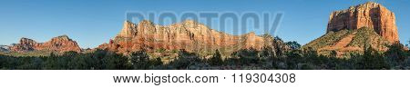Sedona Arizona Landscape Panoramic