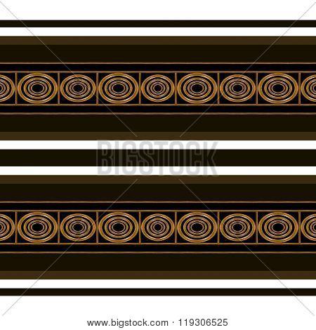 Ethnic Stripes Seamless Pattern