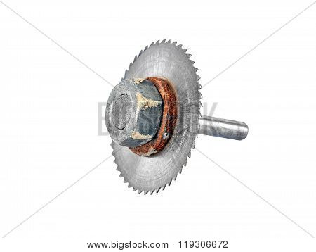 Milling Cutter On White