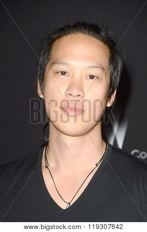 LOS ANGELES - FEB 22:  Leonard Wu at the Crouching Tiger  Hidden Dragon - Sword of Destiny Premiere at the AMC Universal Citywalk on February 22, 2016 in Universal City, CA