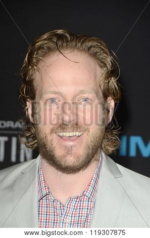 LOS ANGELES - FEB 22:  David Sullivan at the Crouching Tiger  Hidden Dragon - Sword of Destiny Premiere at the AMC Universal Citywalk on February 22, 2016 in Universal City, CA