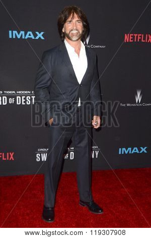 LOS ANGELES - FEB 22:  John Fusco at the Crouching Tiger  Hidden Dragon - Sword of Destiny Premiere at the AMC Universal Citywalk on February 22, 2016 in Universal City, CA