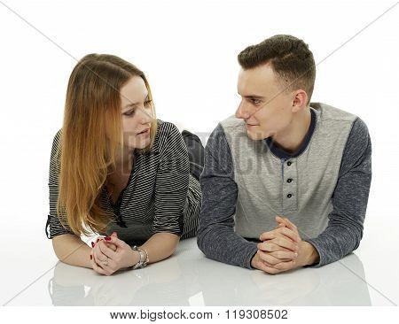 Good Friends Chatting