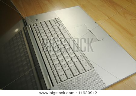 Angled Laptop Image on Desk
