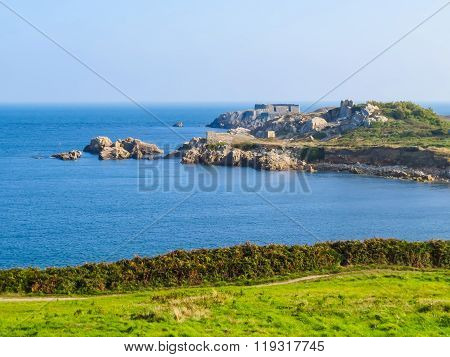 Landscape On The Guernsey Island