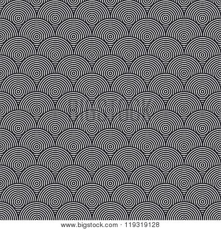 Hidden Circles Seamless Pattern