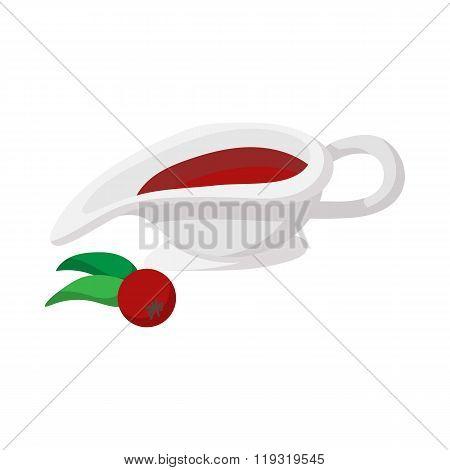 Rowan sauce cartoon icon