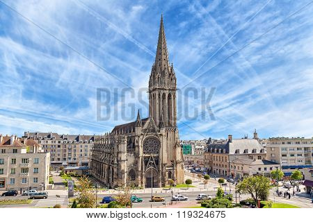 Church Of Saint-pierre In Caen, Normandy