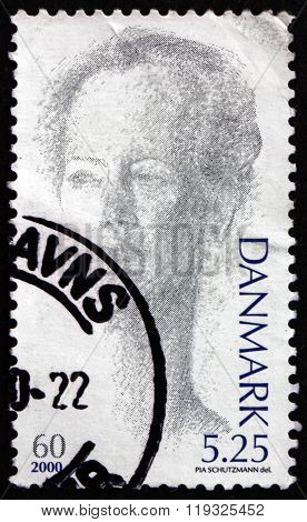Postage Stamp Denmark 2000 Margrethe Ii, Queen Of Denmark